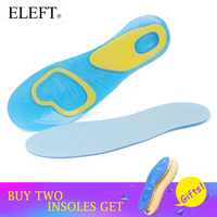 ELEFT Silicone Gel Insoles Comfortable Shoe Insoles Shock Absorption For Men Insoles And Women Insoles