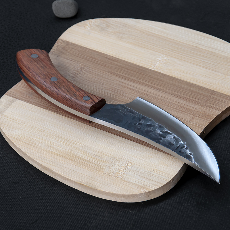 US $19.13 47% OFF PEGASI JapaneseHigh carbon steel forging knife hand made  by chef tang, sliced with kitchen knife, butcher knife-in Knives from Tools  ...