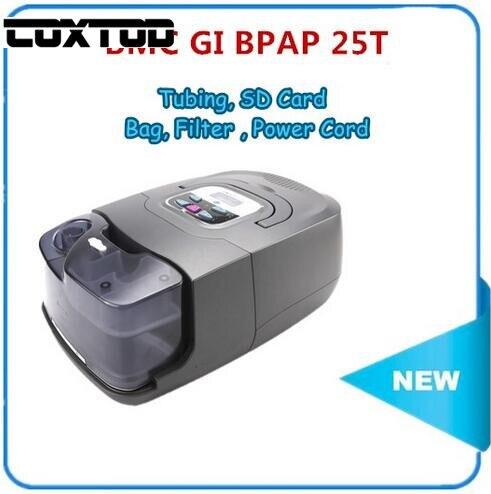COXTOD GI-25T Medical BiPAP Respiratory With 4GB Memory Card Humidifier Bi CPAP Breathing Machine for Sleep Apnea Snoring