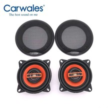 Universal New 4 Inch 2 Way 250W Car Speaker Automobile Car HiFi Audio Full Range Frequency Speaker High Pitch Loudspeaker