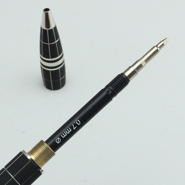 Luxury Mb Horizontal Circle Design Star Walker Monte Middle Night Black Mechanical Pencil 0 7mm In Ballpoint Pens From Office School Supplies On
