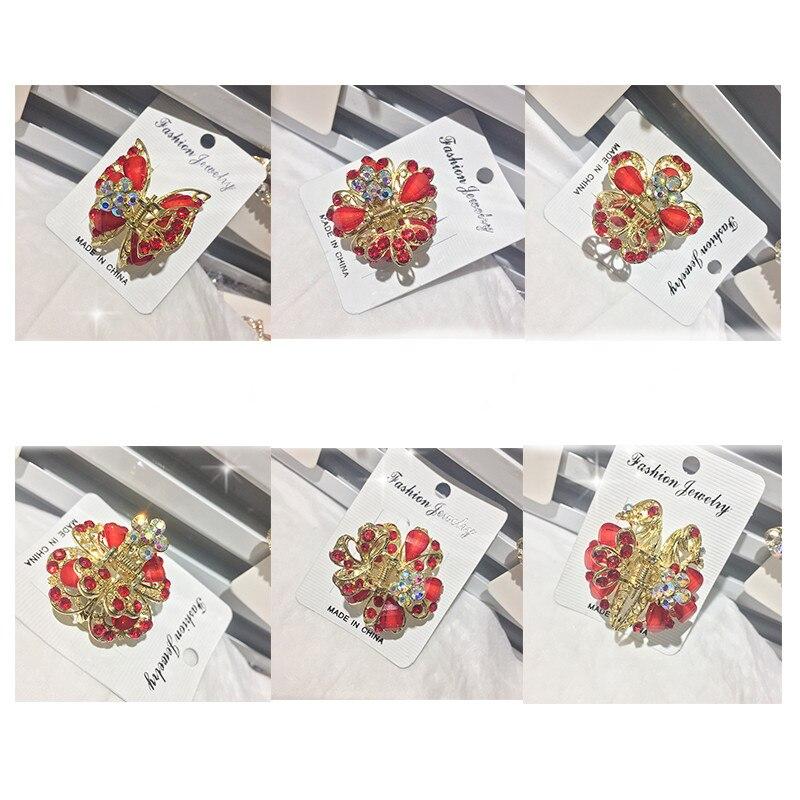 дешево!  Ретро девушка аксессуары для волос бабочка свадебные аксессуары для волос шпилька краб средний шпил