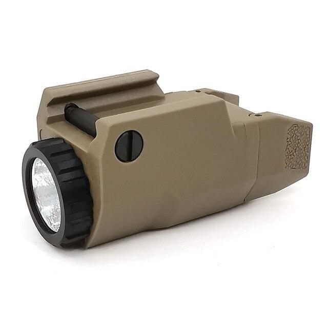 SOTAC GEAR taktyczne APL C broń światła Mini pistolet światła stały/chwilowy/światło stroboskopowe LED biały broń światła