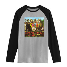 Beatles John Lennon Vintage style males ladies dimension raglan full sleeves lengthy sleeves t shirt merchandise NO. FLBMSS-005