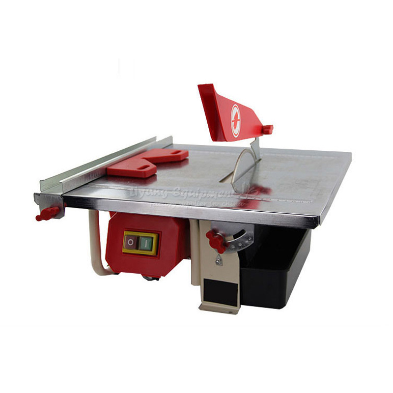 Ceramic tile cutting machine JWTS-180 2 for jade article dimension stone wood slicing