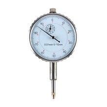 Инструмент точности 0,01 мм Циферблат тестовый индикатор набора тестовый индикатор Круглый циферблат индикатор микрометр циферблат микрометр Measur
