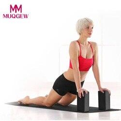 1pc Yoga Block Übung Workout Fitness Ziegel Bolster Kissen Kissen Stretch-Beständig EVA Schaum Hilfe Gym Training Körper gestaltung