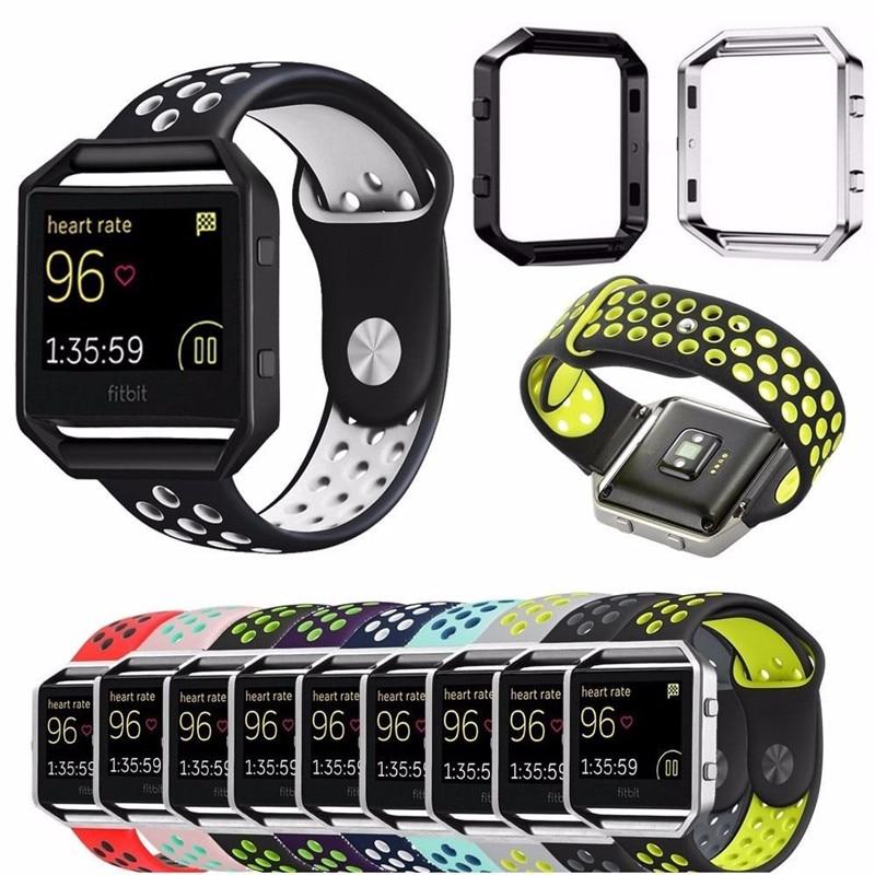 Ersatz Uhrenarmband Für Fitbit Blaze Bands Sport Weiche Silikon Für Fitbit Blaze Smart Fitness Uhr Mit Rahmen