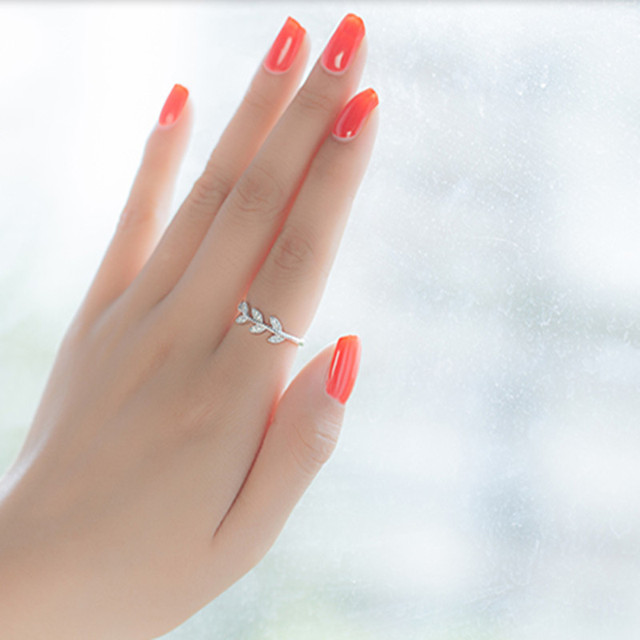 S925 Silver Open Ring Single Female Birthday Gift Girlfriend Gifts