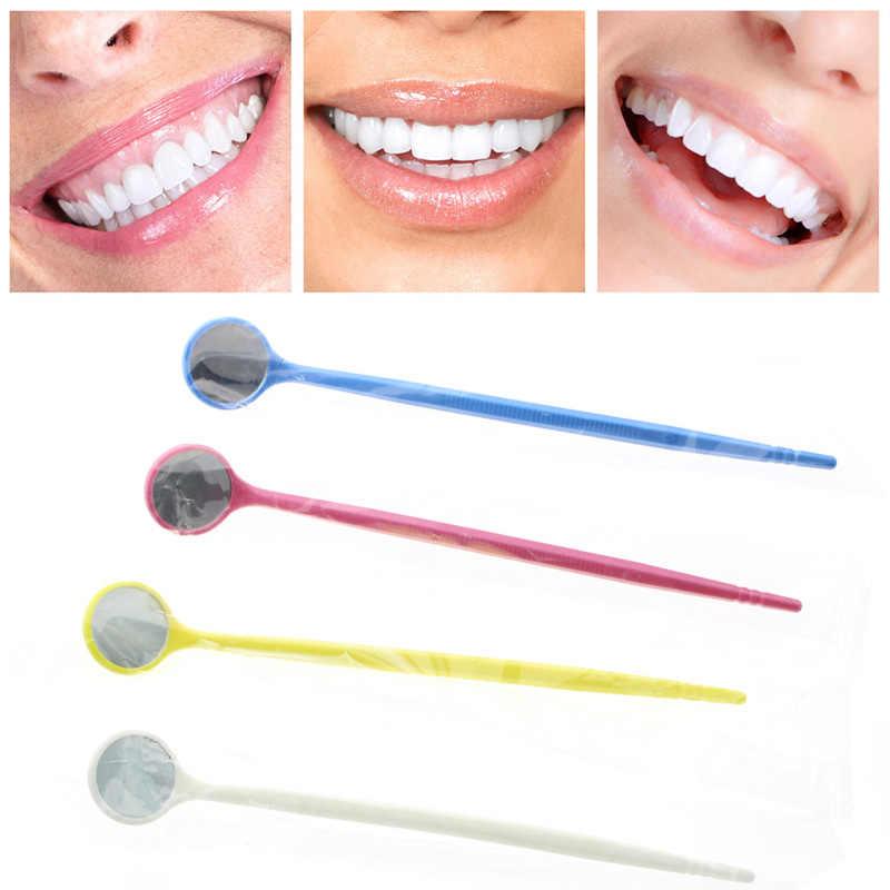 Nhiều màu sắc Nha Khoa Răng Gương Dễ Thương Giá Rẻ Produtos Odontologicos Nha Sĩ Dụng Cụ Nhựa Nha Khoa Gương Blanchiment Dentaire