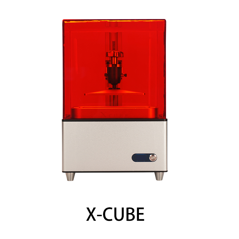 Funssor Updated  X-CUBE LCD 3D printer SLA DLP UV curing photosensitive resin Printing Size 120X60X150MM
