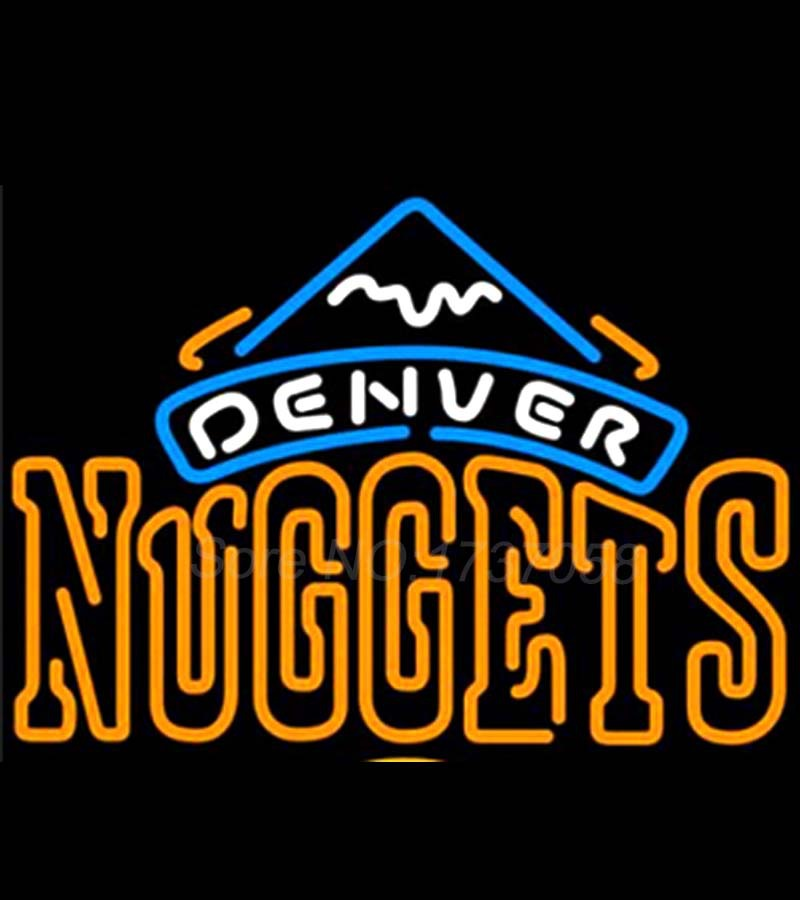 check out 3d204 f9d08 Denver Nuggets Neon Beer Sign Store Display Avize Neon Nikke ...