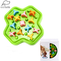 Bowls for Dogs Slow Feeder Anti Choke Pet Bowl Cat Food Dog Feeding Bowls for Cats Pet Plate Dogs Food Container Eat Slow YT0003