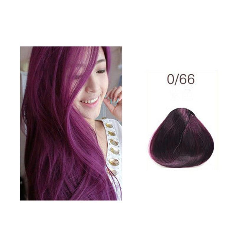 Купить с кэшбэком Unisex Hair Dye Professional Long Lasting Salon Dye Cream 100ml Hair Color Bright Hair Dye Cream
