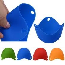 Free Shipping high quality Silicone Egg Poacher Cook Poach Pods Kitchen Cookware Poached Baking Cup Home Tools D36J6
