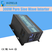 Micro grid tie inverter 12V/24V 300W Peak Power Inverter Voltage Convertor Transformer 48V Automatic Adaptable цена