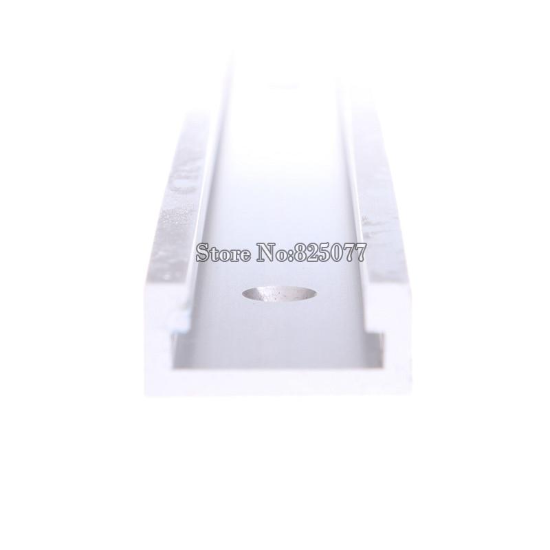 2PCS T-track T-slot Mitre Track Jig Fixture Slot pro Router Table - Sady nástrojů - Fotografie 3