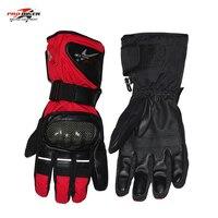 Pro Biker Moto Gloves Motorcycle Winter Motorcycle Gloves Waterproof Winter Luvas De Couro Guanti Moto Racing