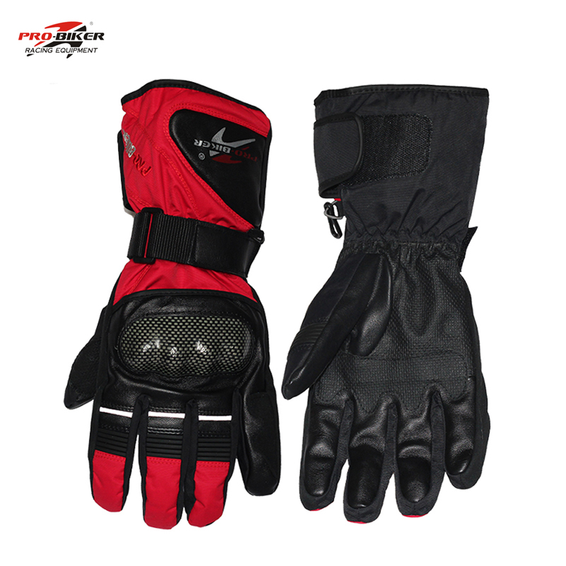 Pro biker moto handschoenen motorfiets winter motorhandschoenen - Motoraccessoires en onderdelen