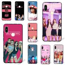 Shockproof BLACKPINK KPOP BLACK PINK Phone Cover for Xiaomi Redmi 6 Case 4X 4A 5 Plus 5A Prime 6A Note Pro Cases Back