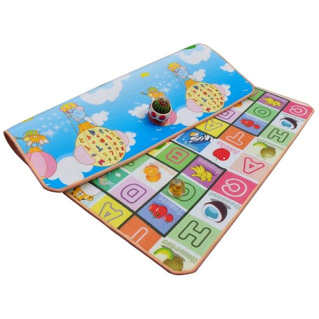 Хороший маленький ребенка ползать коврик подняться площадку двусторонняя pattern of increased moisture толще разделе мини игры одеяло открытый pad