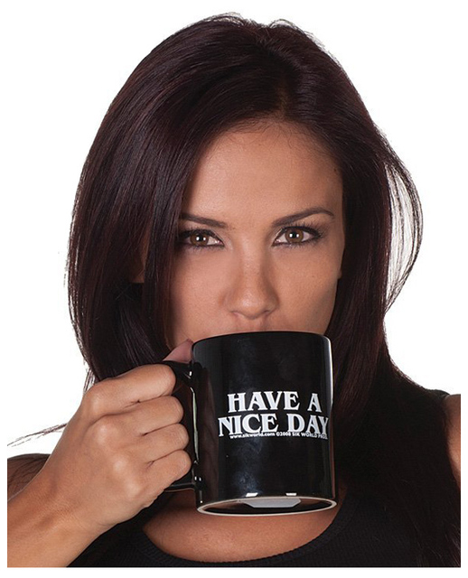 Creative Have a Nice Day Coffee Mug Middle Finger Funny Cup for Coffee Milk Tea Cups Novelty Gifts 4