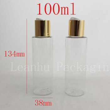 100ml X 50 clear empty lotion cream plastic bottles,small plastic containers,DIY cream bottle container,empty makeup containers