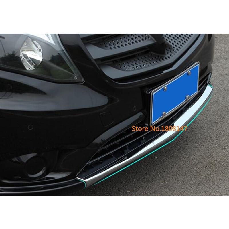 Chrome Bumper Protector Sill Trim Cover To Fit Vito W447 2015+