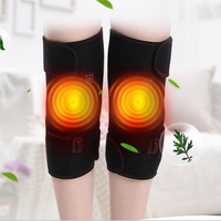 Electric Care Knees Warm Moxibustion fever Pack vibration massage Leg Joint Physical Therapy Instrument elderly Massager Charge