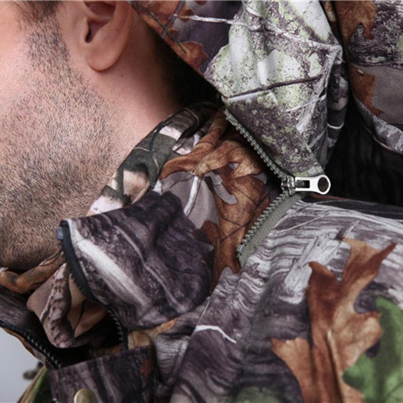 MULTICAM Uniform Winter Jungle Bionic Camouflage Tactical Suit Thicken Slim Fat Sniper Suit Hunting Waterproof Set L~4XL CF123