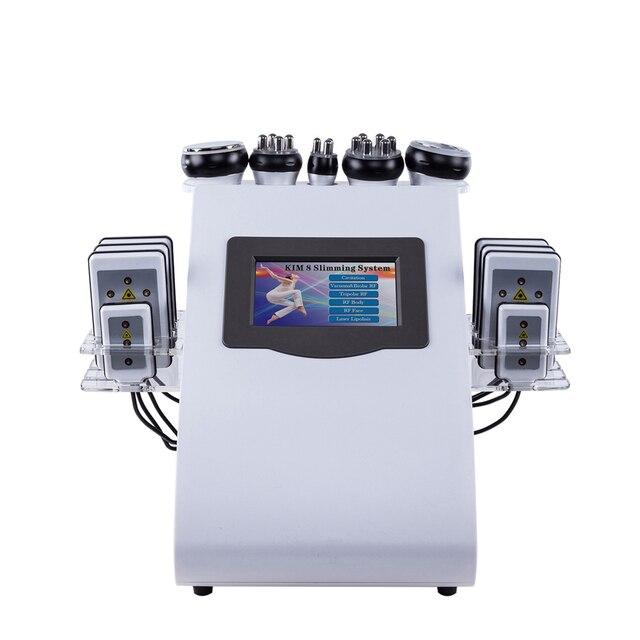 40 k ультразвуковая липосакция Кавитация 8 pad жир лазерная машина для похудения вакуум РФ уход за кожей салон косметологическое оборудование ...