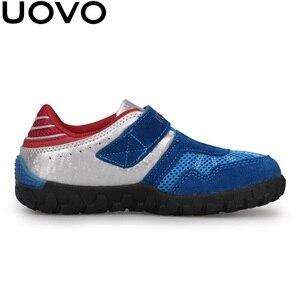 Image 5 - UOVO 2020 Neue Ankünfte Marke Kinder Schuhe Sommer Herbst Jungen Turnschuhe Atmungsaktive Licht Gewicht kinder Schule Schuhe Racing stil