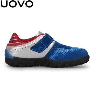Image 5 - منتجات جديدة من UOVO لعام 2020 أحذية للأطفال مناسبة للصيف والخريف أحذية رياضية للأولاد قابلة للتنفس خفيفة الوزن مناسبة للمدرسة
