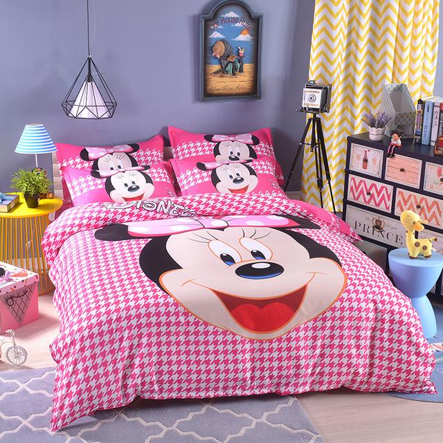 UNIKIDS Lindo de dibujos animados funda nórdica conjunto juego de cama para niño o niñas Niños de tamaño Doble 02