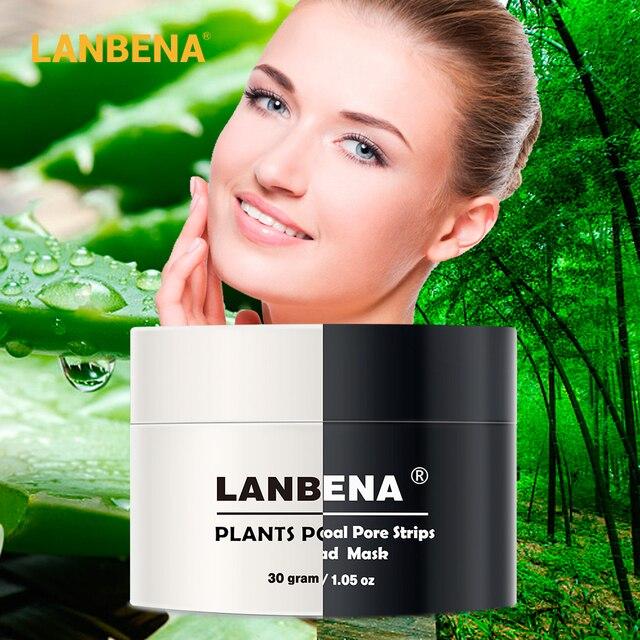 LANBENA Black Mask Blackhead Removal Face Mask Skin Care Blackhead Peeling Nose Mask Repair Blackhead Deep Cleansing Sheet Mask 5