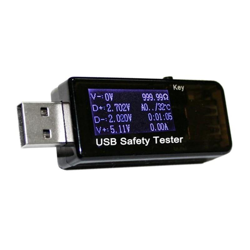 USB Testeur 3 ~ 30 V DC Voltmètre ampèremètre actuelle mètres tension capacité moniteur qc2.0 rapide chargeur de Puissance de Téléphone banque détecteur