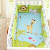 11 Colors Four Seasons Cotton Prints One Piece Baby Bed Bumper Breathable Cozy Crib Bumpers Baby