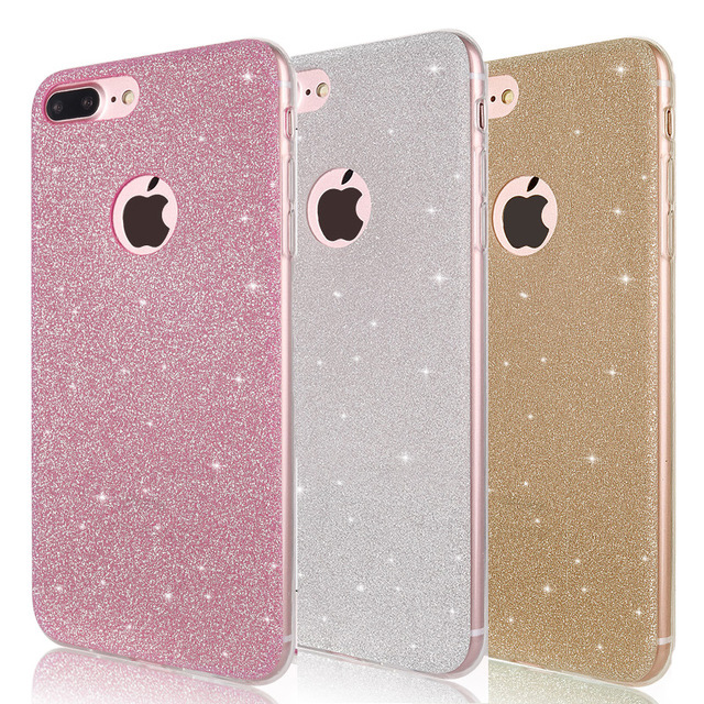 Shine Soft Frosted TPU Cell Phone Case for iPhone 6 s 6S iPhone 7 8 Plus iPhone X 10 XR XS Max 6Plus 6SPlus 7Plus 8Plus Cover