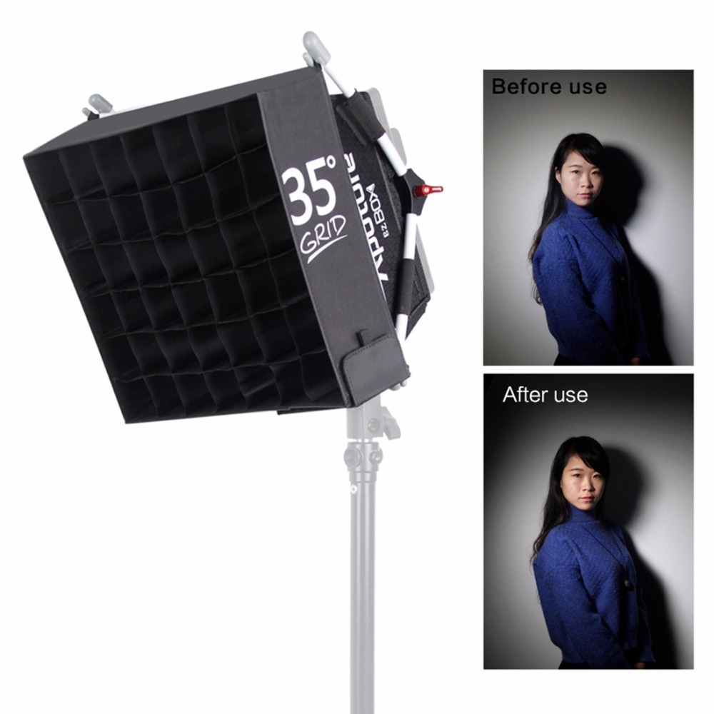 ФОТО Aputure Softbox Easy EZ + Grip Box Diffuser Kit for Amaran LED AL-528 & HR-672 Lights