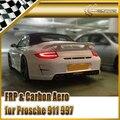 Автомобиль стайлинг Для Porsche 911 997 Pior Дизайн FRP Стекловолокно Задний Бампер Mark I