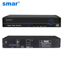 Smar Super HD 25CH 5MP CCTV NVR H.265/H.264 32 Channel 1080P 8CH 4K Network Video Recorder With 1CH Audio ONVIF XMEYE P2P Free