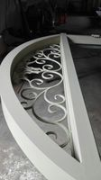 Shanghai China Factory Producing Wrought Iron Doors High Quality Export To U S Model Hench Ad34