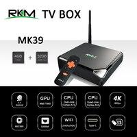 Android 7.1 TV BOX RKM MK39 Rockchip RK3399 4GB 32GB 802.11AC 2.4G 5G 1000M LAN USB3.0 Type c Digital Signage Media Player