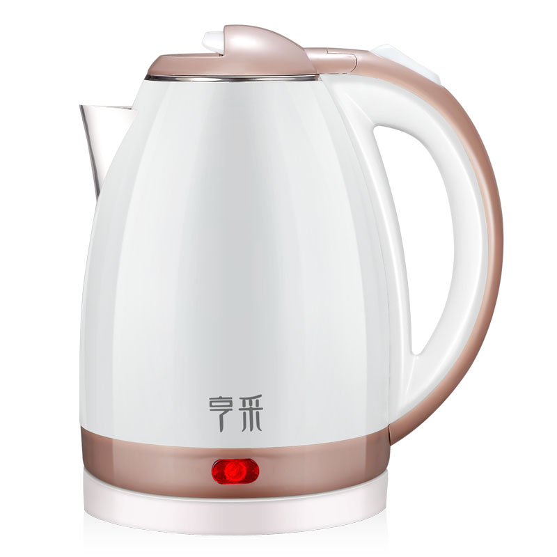 Free shipping ZX-200B6 purple blue Brown electric kettle Food grade 304 stainless steel kettle Automatic power off 1000g food grade guar gum powder free shipping