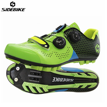Sidebike cycling shoes carbon Fiber mountain bike shoes Ultralight Non-slip road cycling sneaker MTB Bicycle Self-Locking Shoes