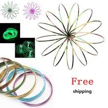 Волшебное кольцо Toroflux Torofluxus Flowtoy удивительная игрушка Flow rings игрушки кинетическая Весенняя игрушка забавная уличная игра Умная игрушка Непоседа