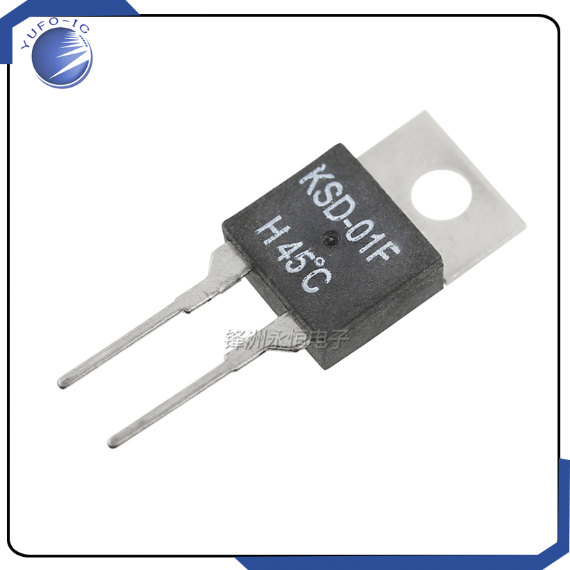 5PCS KSD 01F 40 45 50 55 60 65 70 80C Degree Normally Closed And Open Thermostat Switch Temperature Control In Switches From Lights Lighting On