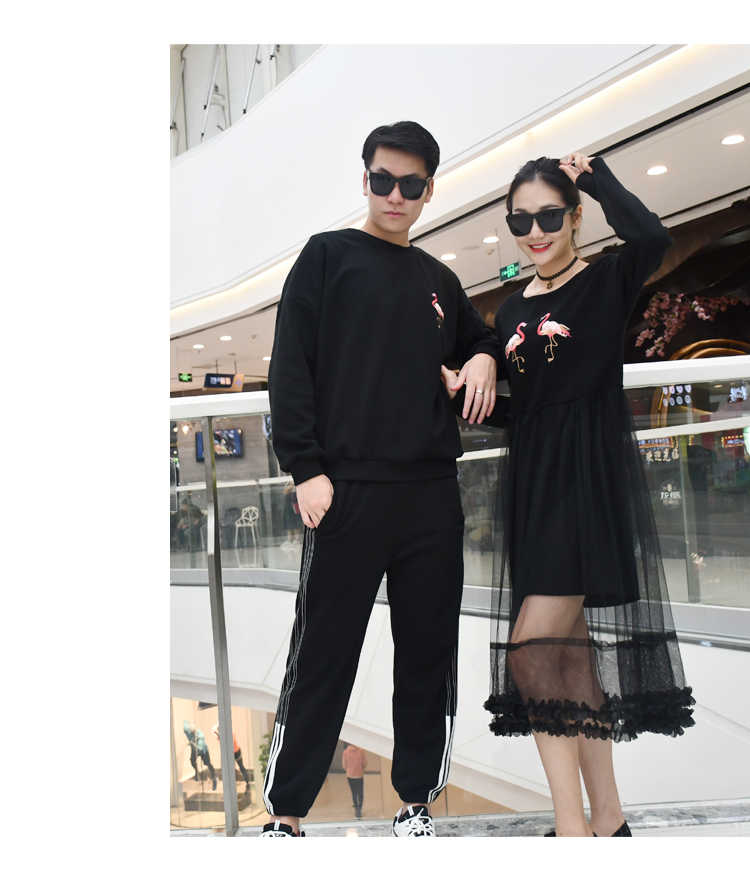 ac50d586dae9b Mother Daughter Dresses Flamingo Cartoon Clothes for Family Dad Mom Baby  Kids Matching Clothes Family Look Warm boys Sweaters