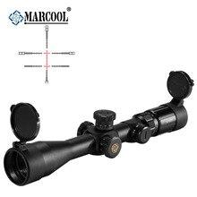 MARCOOL оптика Euipment EVV 4-14X44 FFP SFL тактический для охоты коллиматорный Телескоп оптический Red Dot винтовка цель прицел