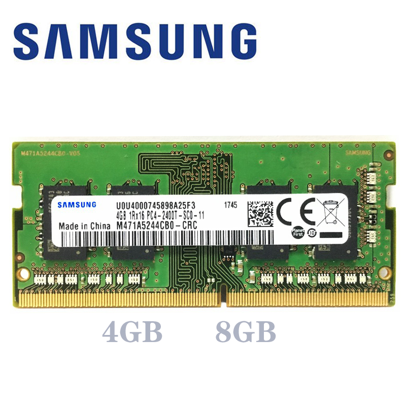 Samsung Laptop ram ddr4 8 gb 4 GB GB PC4 16 2133 MHz ou 2400 MHz 2666 Mhz 2400 T ou 2133 P 2666 v DIMM de Memória notebook 4g 8g 16g ddr4